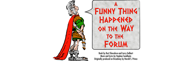 [a funny thing happened on the way to the forum logo]